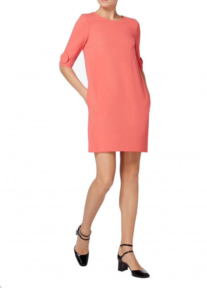 Flame Dress - Coral