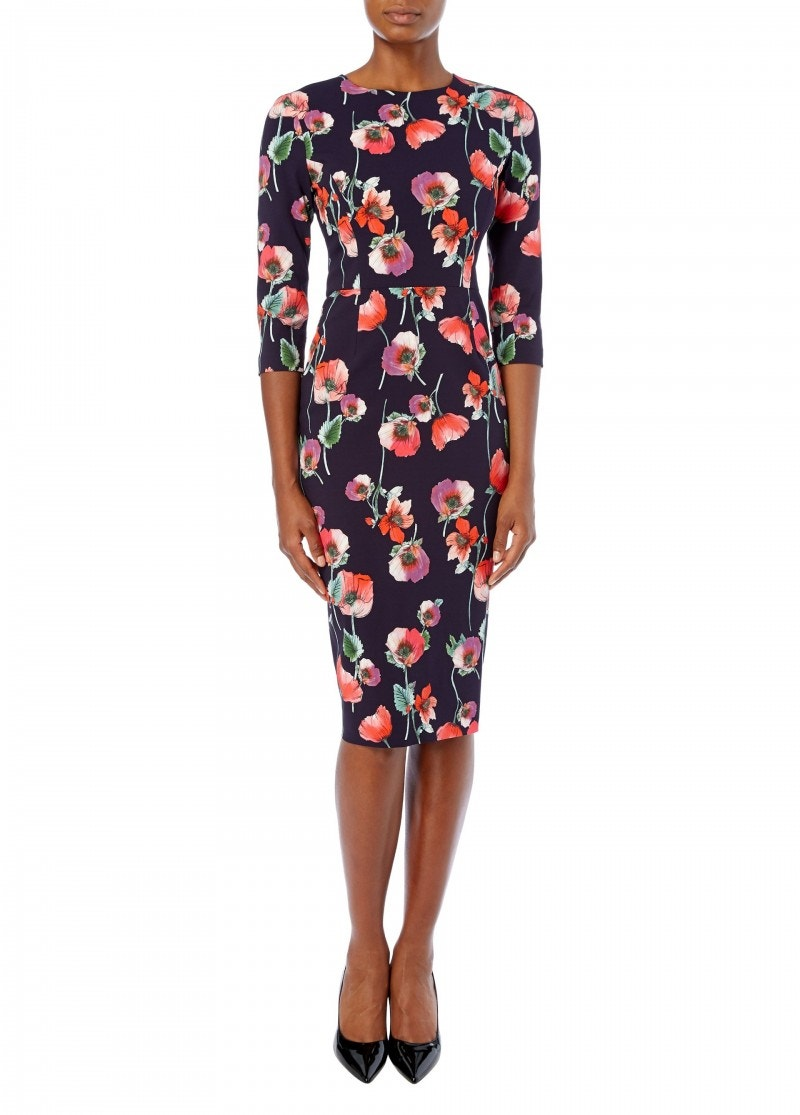 Hailey Dress Red Anemone