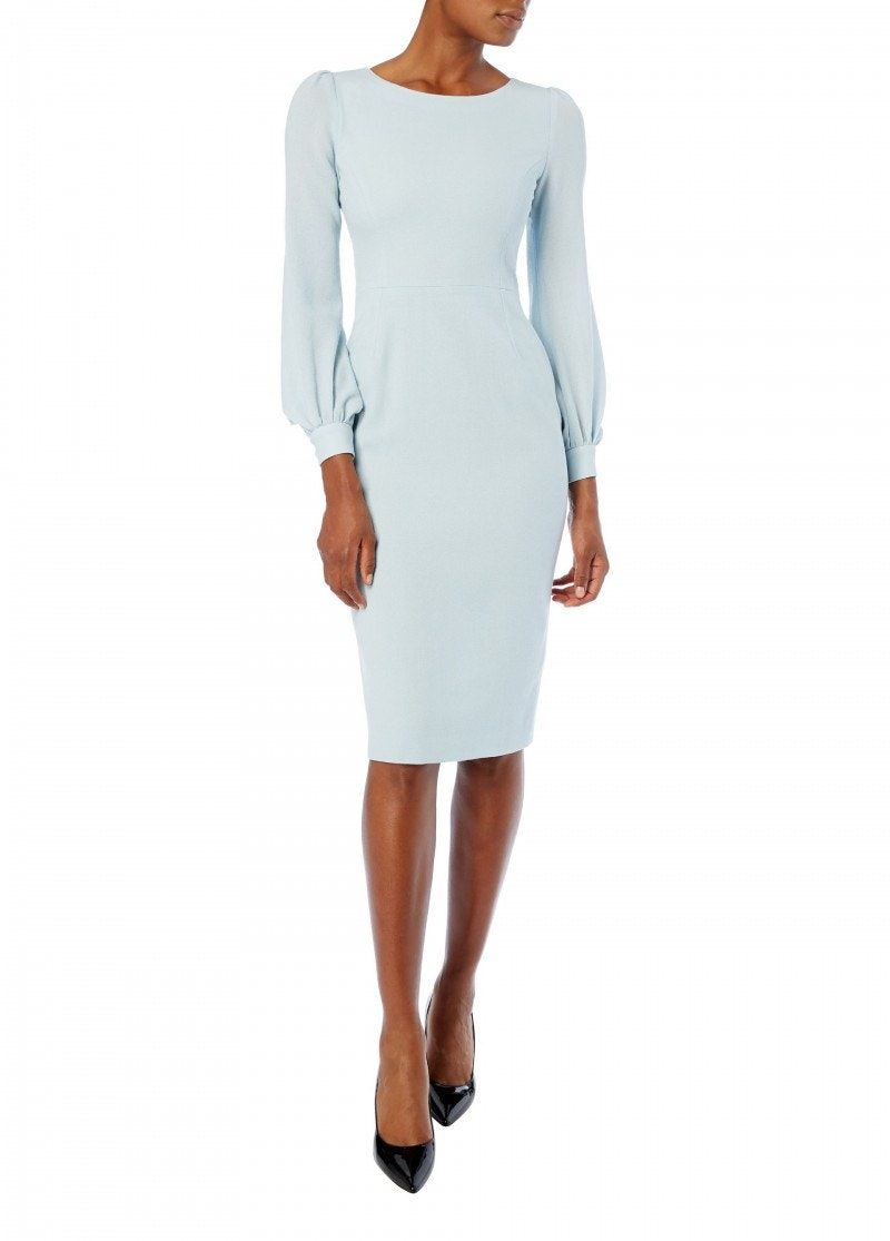 Harper Dress Frost Blue