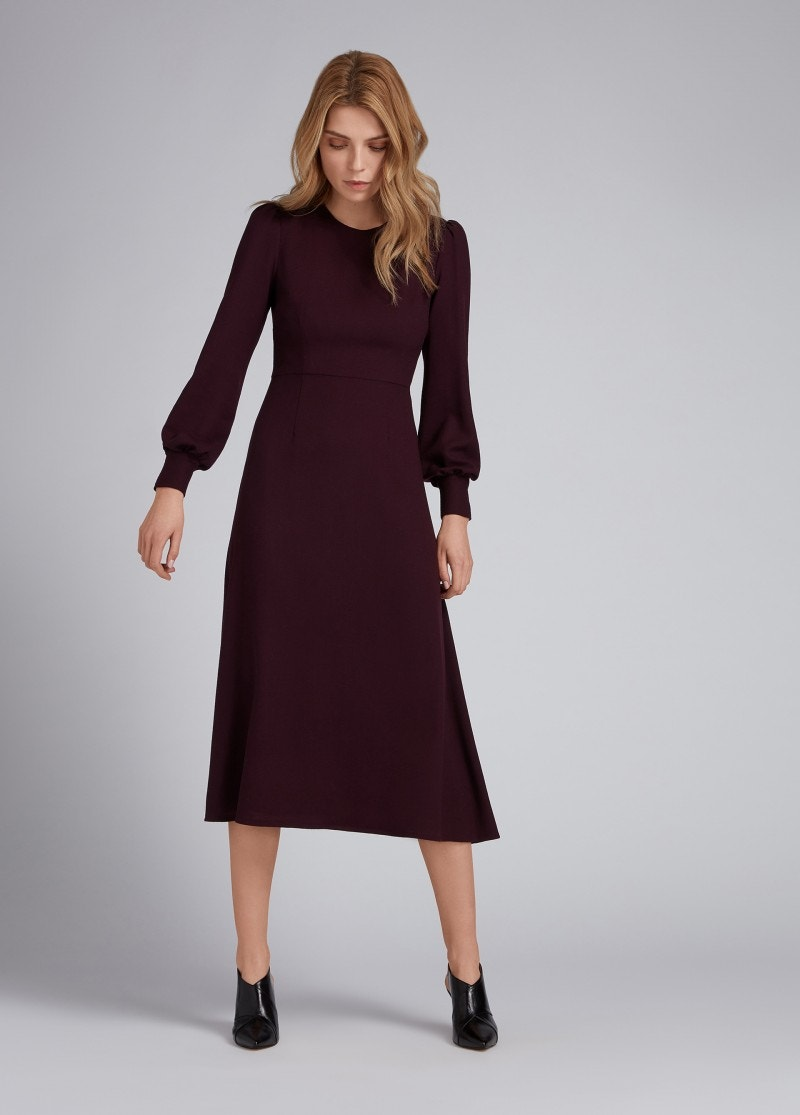 Idaho Dress Damson