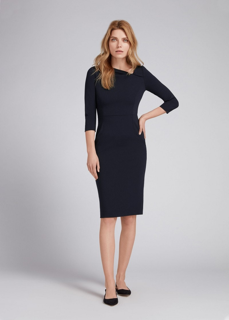 Ivy Dress Dark Navy