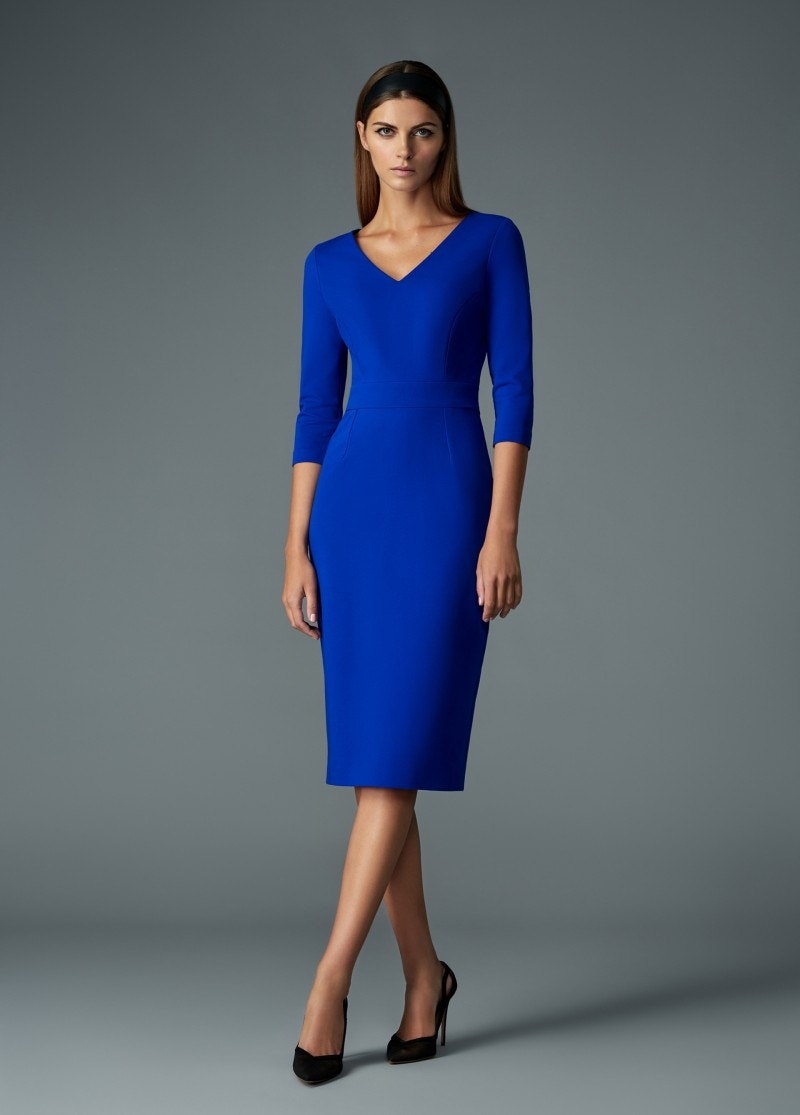 Janina Dress Sapphire