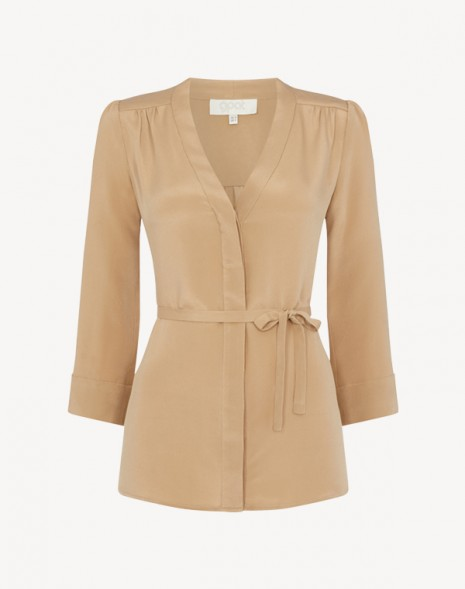 Brittany Blouse Caramel