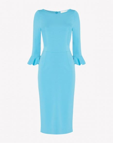 Frou Frou Dress Turquoise