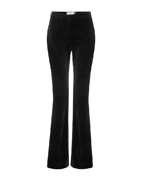 Genius Velvet Trousers - Black