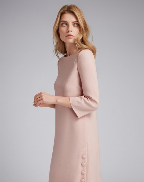 Harlow Dress Tea Rose