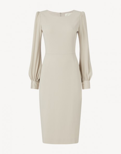 Harper Cady Dress Oyster