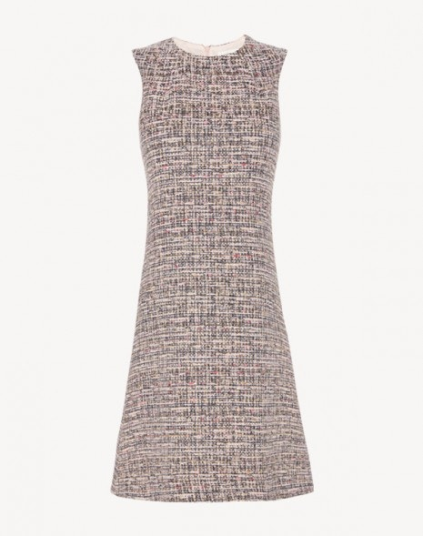 Innocent Dress Pink Tweed
