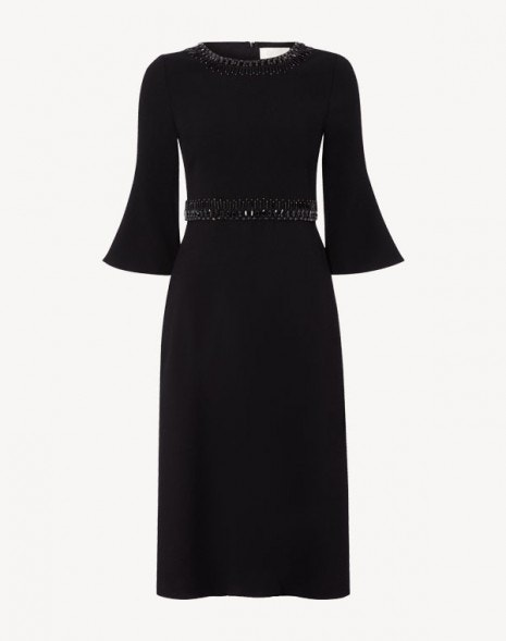 Islay Beaded Dress Black