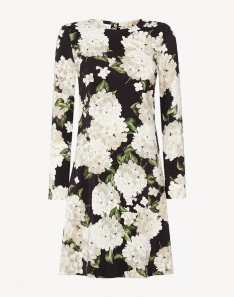 Izzy Dress Cream Hydrangea