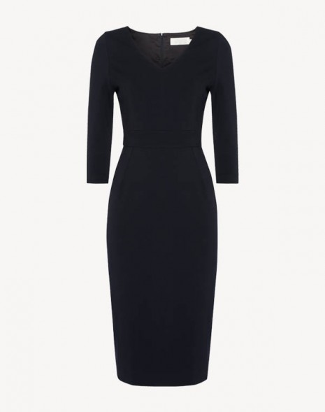 Janina Dress Dark Navy