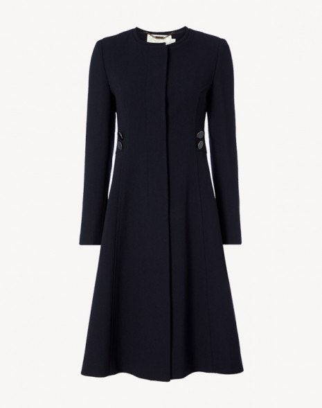 January Coat Dark Navy