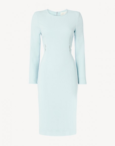 Jennifer Dress Frost Blue