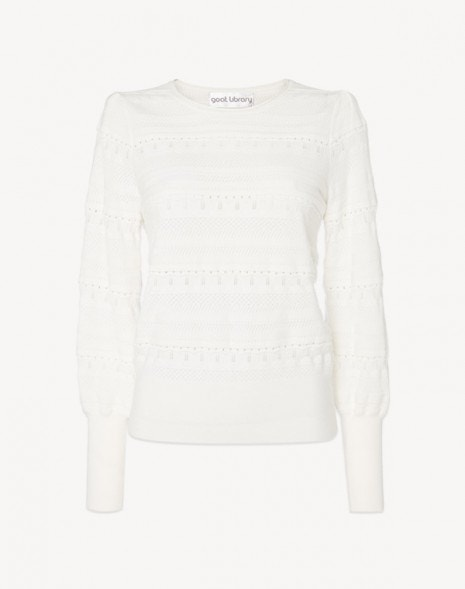 Jocasta Sweater White