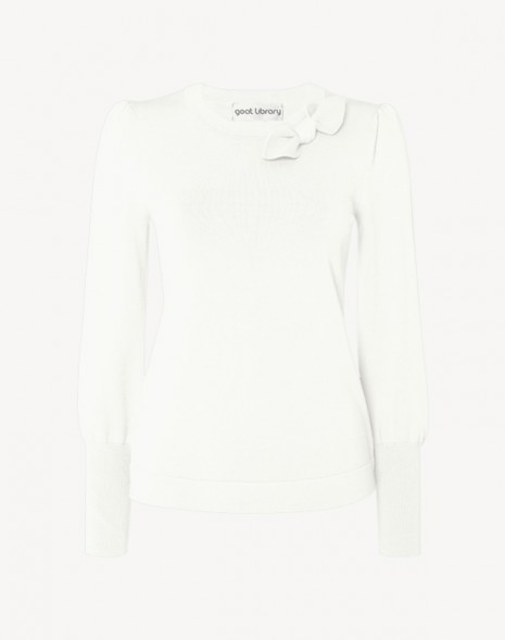 Joni Sweater White