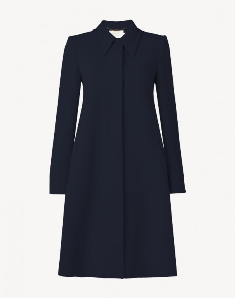 Joplin Coat Dark Navy