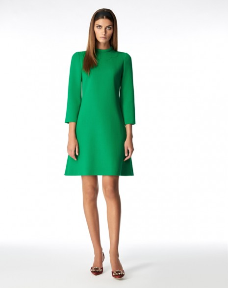 Juno Dress Apple Green