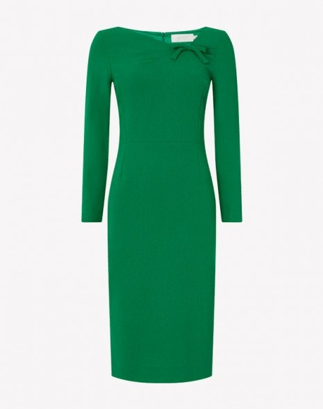 Justine Dress Apple Green