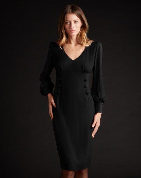 Kacey Cady Dress Black