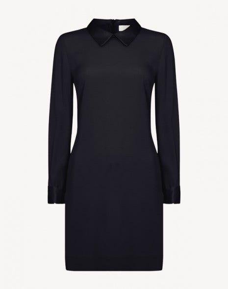 Karmel Dress Dark Navy