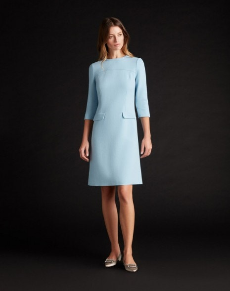 Karrie Dress Ice Blue