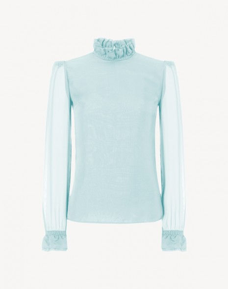 Kasper Blouse Ice Blue