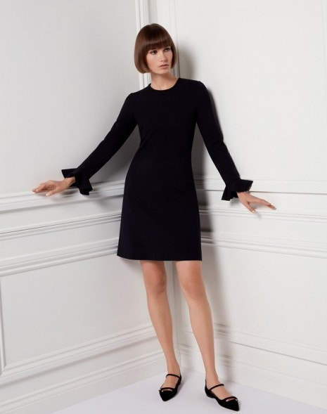 Kite Jersey Dress Black