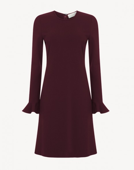 Kite Jersey Dress Damson