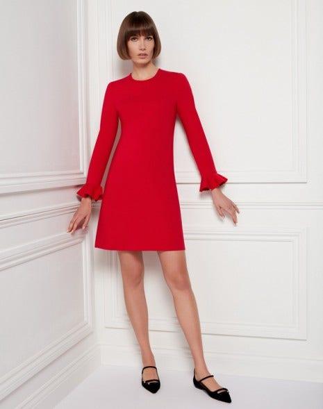 Kite Jersey Dress Raspberry