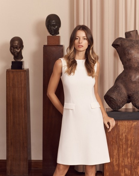 Kitson Dress Cream