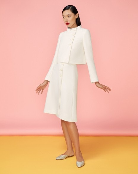 Lily Skirt Cream