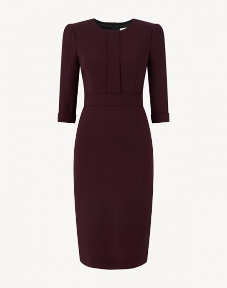 Layla Dress Damson