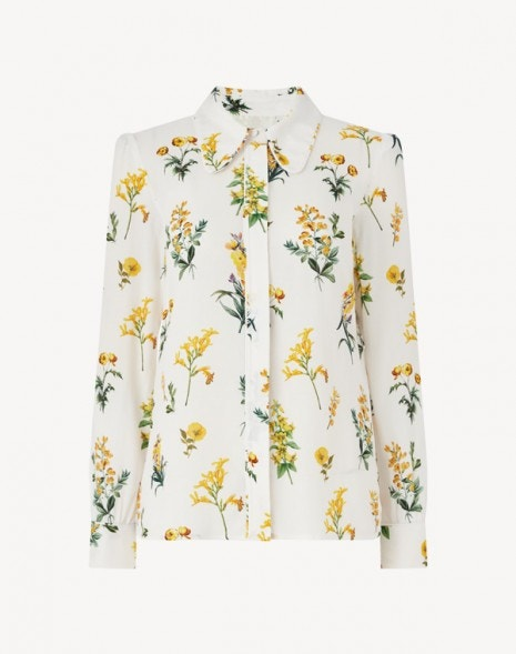 Leonora Shirt Cream Meadow