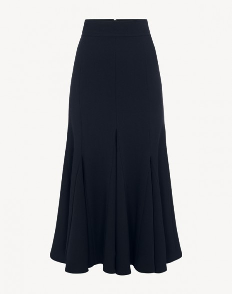 Lila Midi Skirt Dark Navy