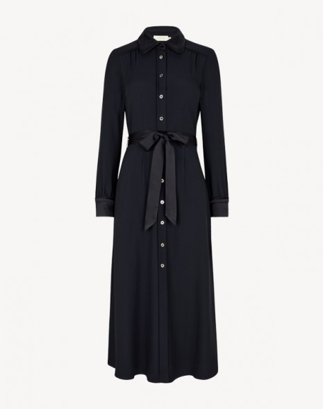 Lori Cady Shirt Dress Dark Navy