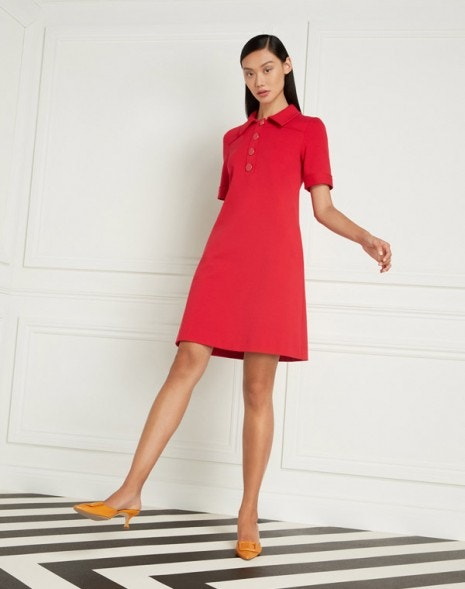Lula Dress Raspberry