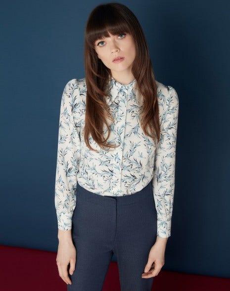 Madeleine Shirt Cream Sprig