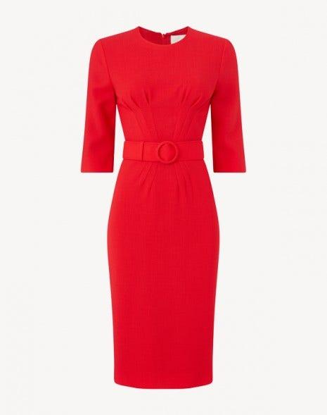 Madison Dress Red