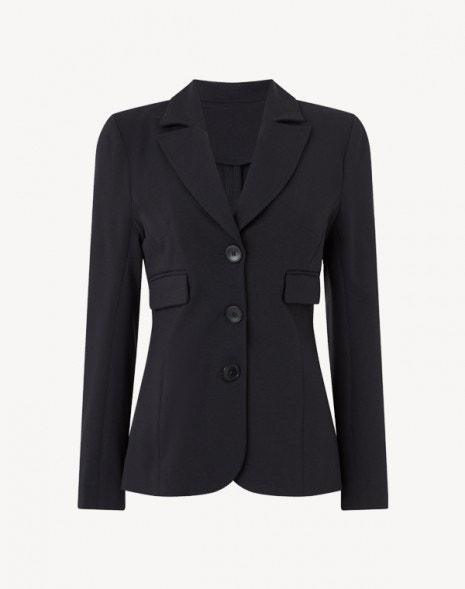 Margeaux Jersey Jacket Graphite