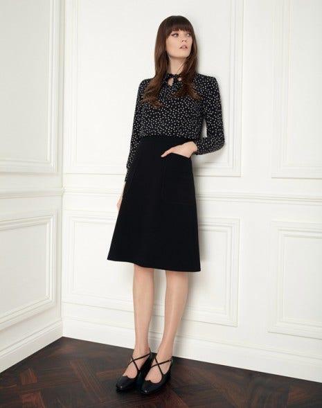 Mila Skirt Black