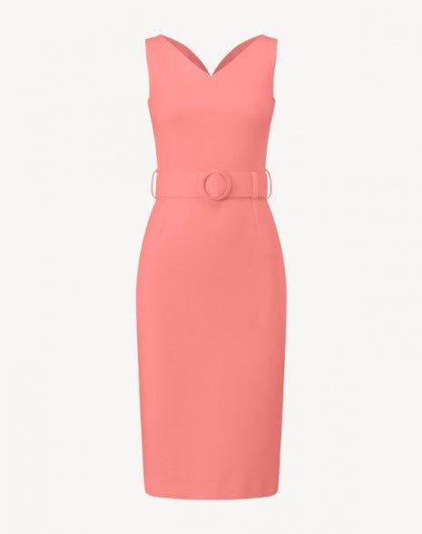Monroe Dress Coral