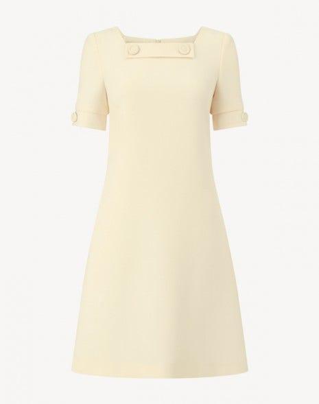 Muriel Dress Cornish Yellow