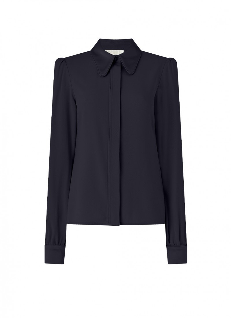 Lucinda Cady Shirt Dark Navy