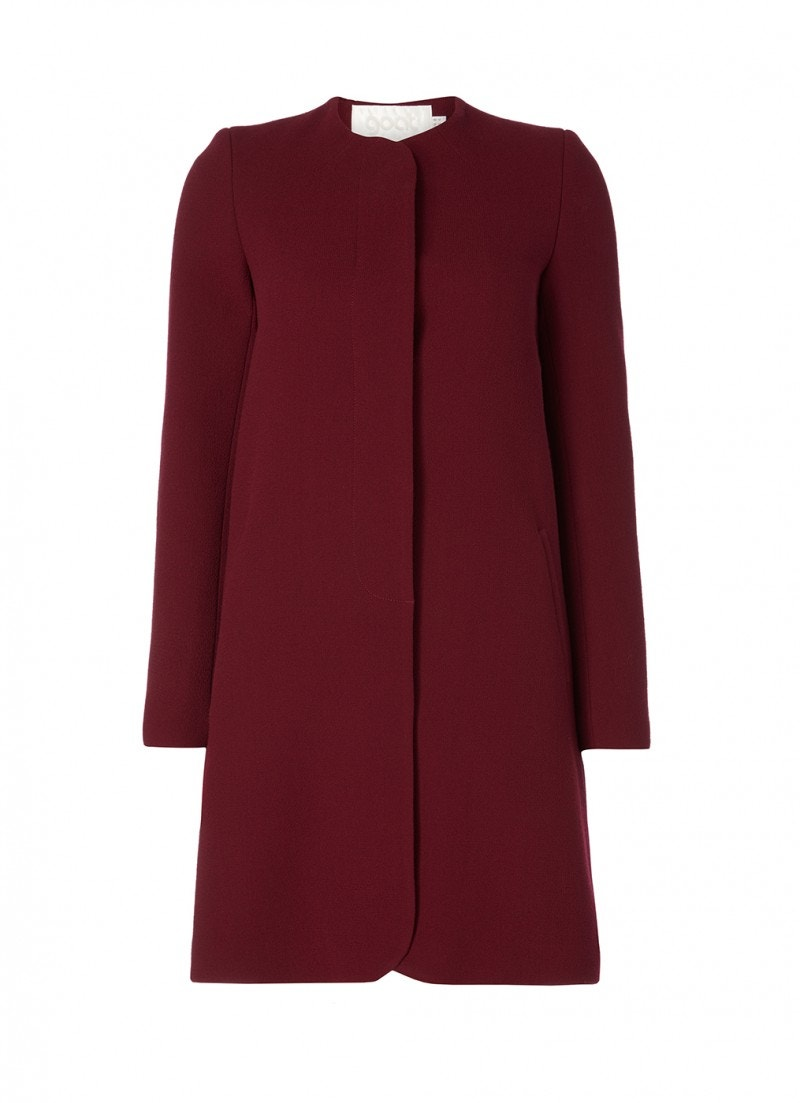 Redgrave Coat Plum