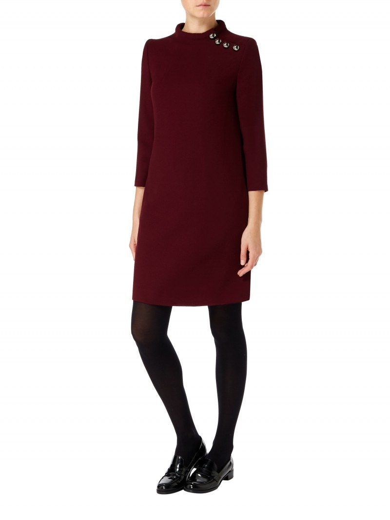 Eloise Dress Plum
