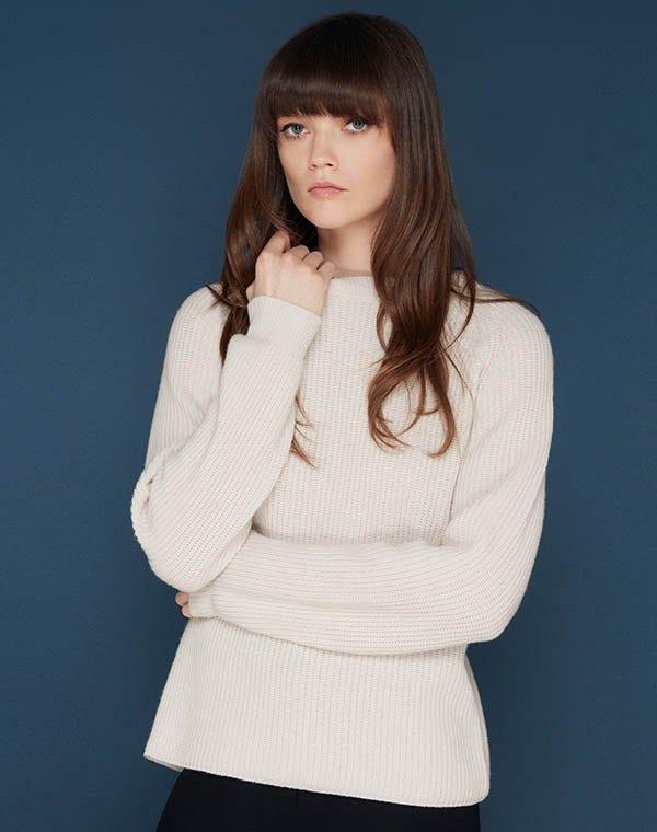 Murray Cashmere Sweater Sandstone