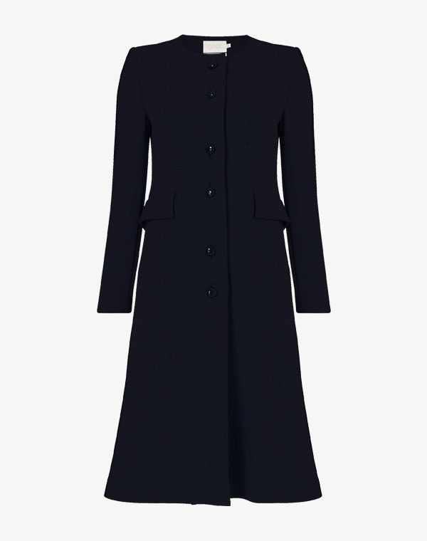 Hampton Coat Dark Navy
