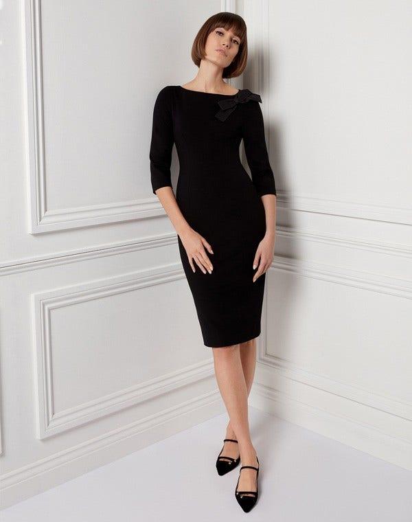 Henriette Dress Black