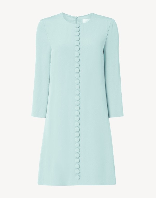 Houston Cady Dress Aqua