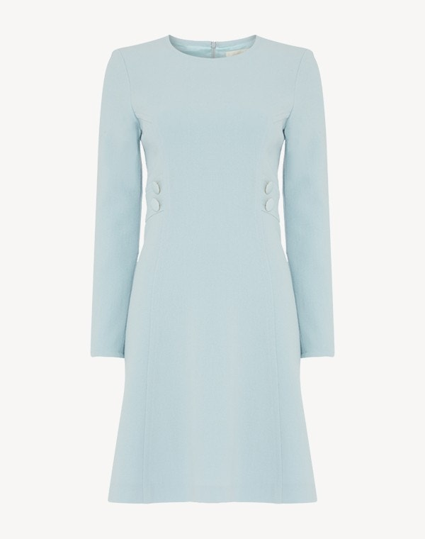 Jane Dress Frost Blue